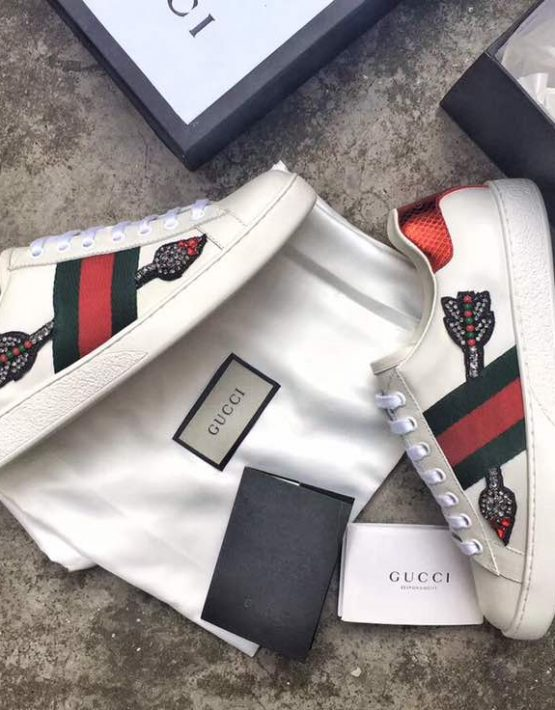 gucci ace arrow sneakers Shop Clothing