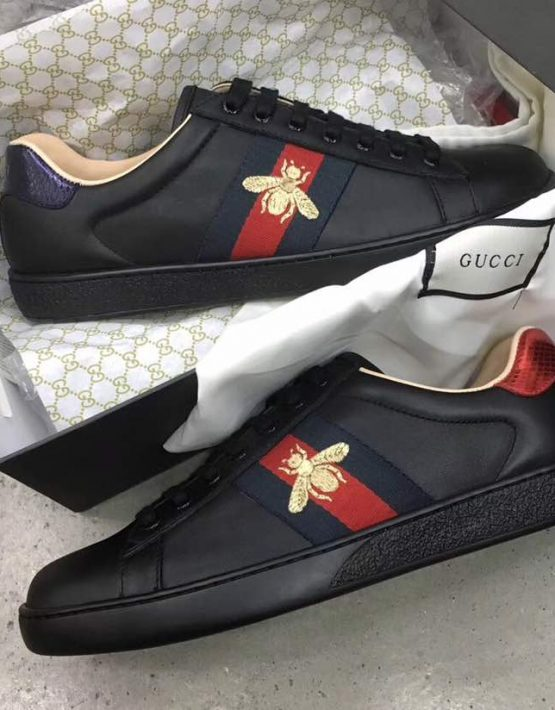 Gucci Bee sneakers GUCCI BEE SNEAKER BLACK Gucci, SNEAKERS