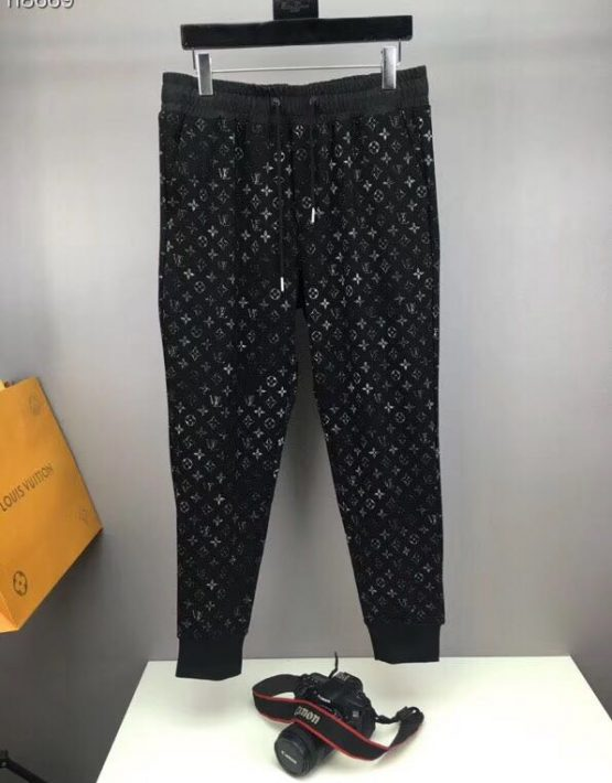 Louis Vuitton Monogram Pant Black Billionairemart