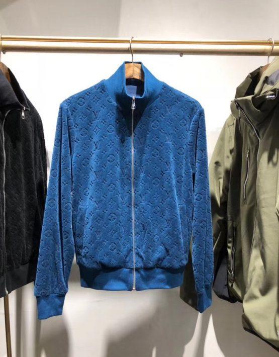 Louis Vuitton Blue Velvet Vest – Billionairemart