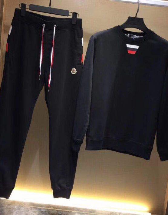 authentic quality sale great prices Moncler Tracksuit Black – Billionairemart