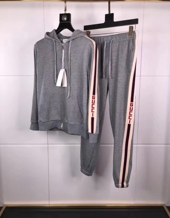 Gucci Grey Tracksuit NEW