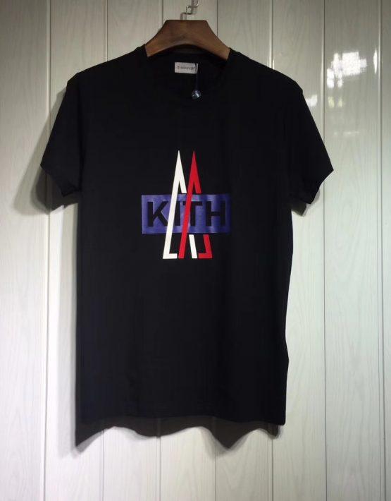 edcc417a8ace6b Moncler x Kith Black T-Shirt BRANDS, Clothing ...