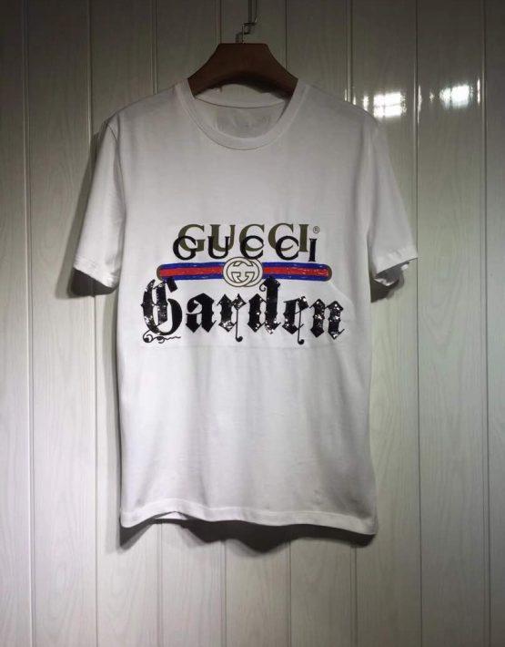 791d61da77fd Gucci 'Garden' White T-Shirt | Billionairemart