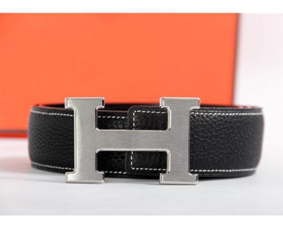 HERMES 24MM Reversible H Logo Belt Kit 222345